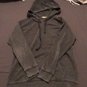 AE distressed hoodie